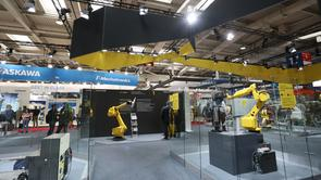 FANUC Messestand 2019
