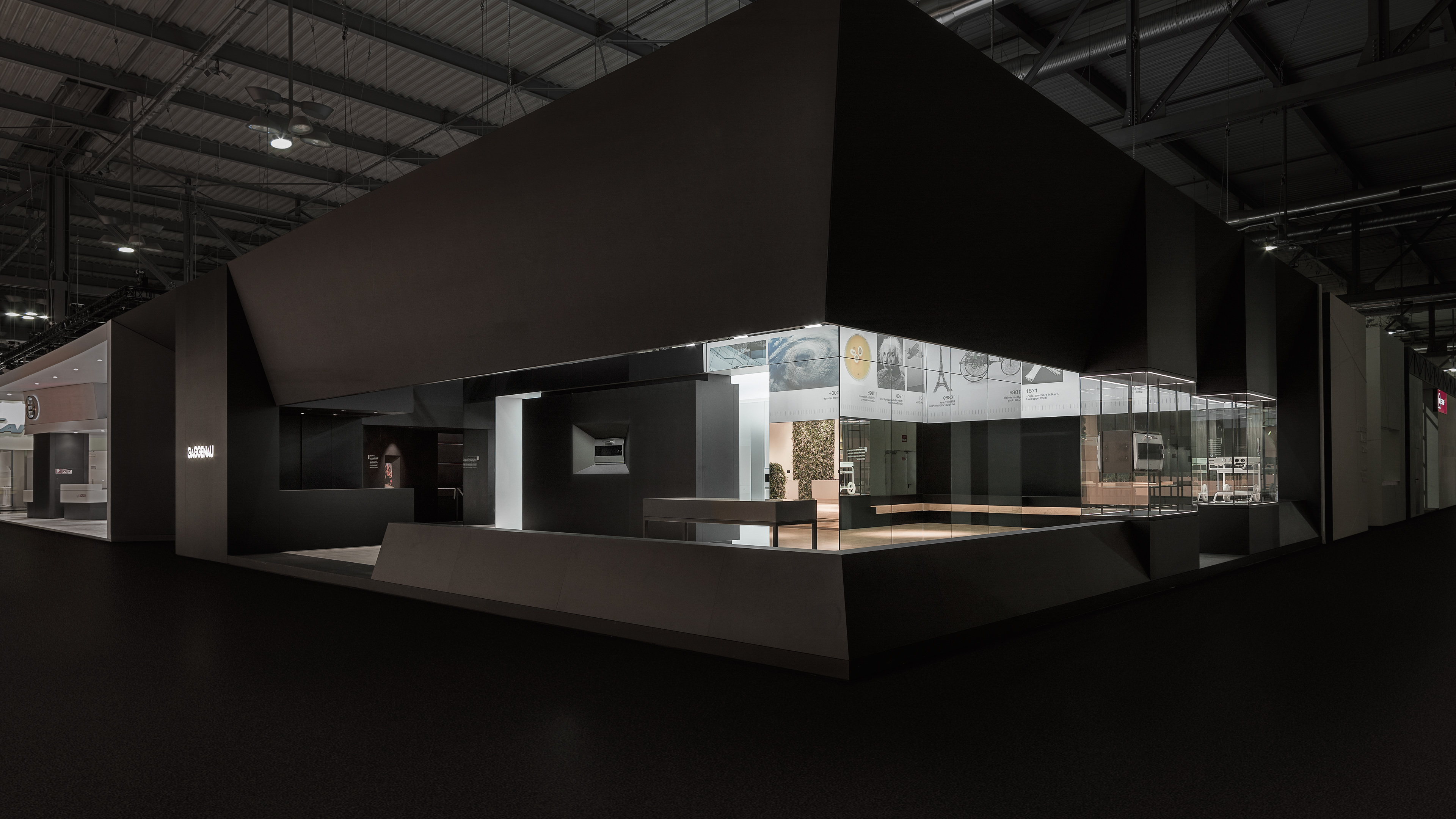 Sungard Exhibition Stand Year : Gaggenau trade fair stand scoops award in company s
