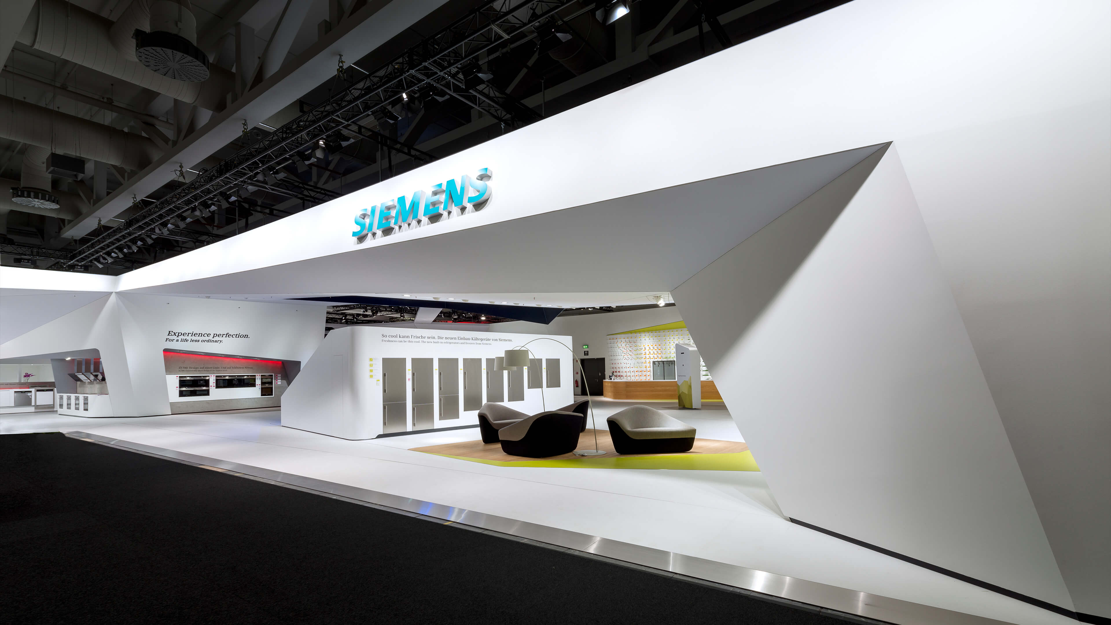 Exhibition Stand Lighting Near Me : Siemens fair stand