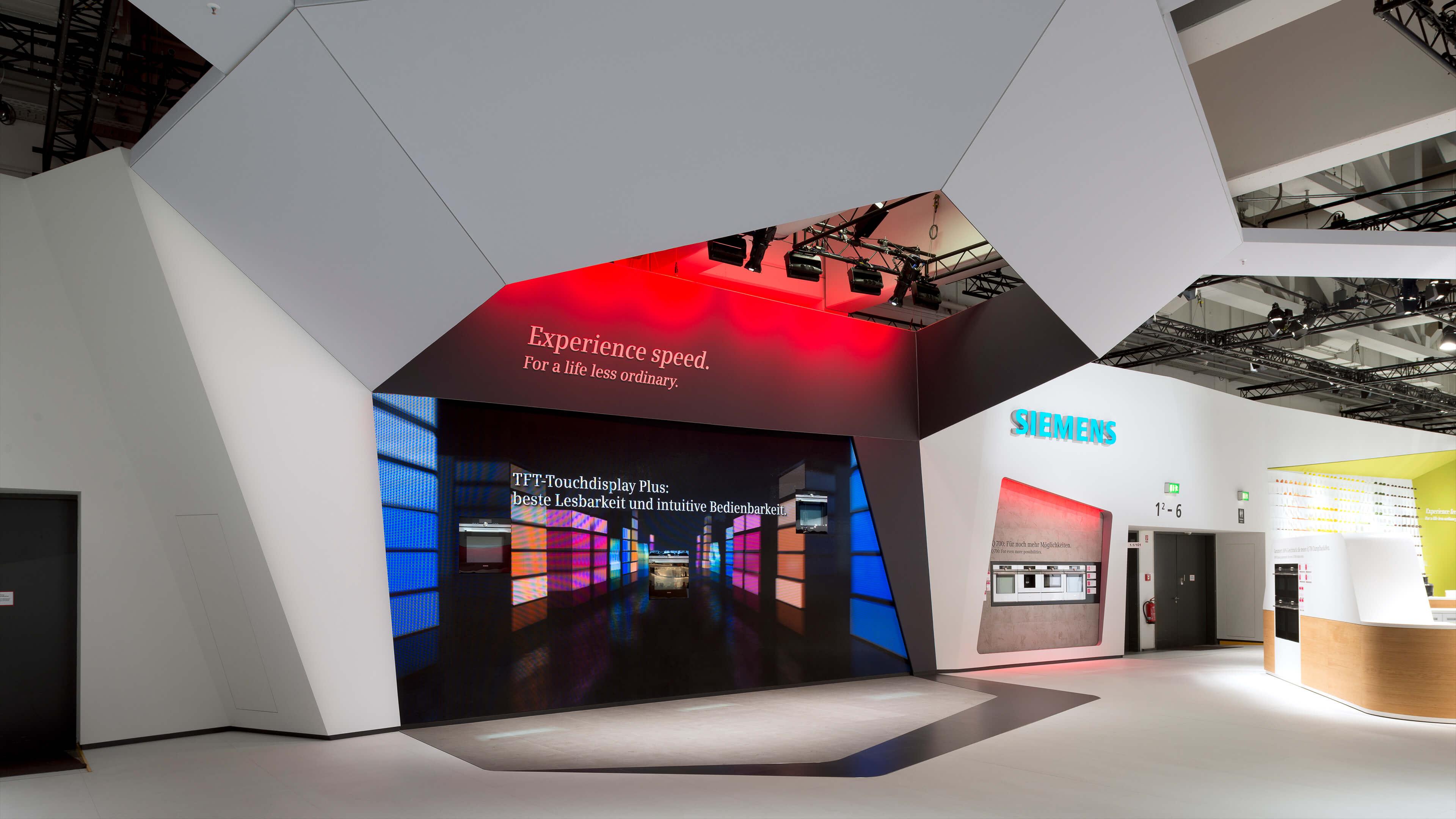 Siemens Fair Stand